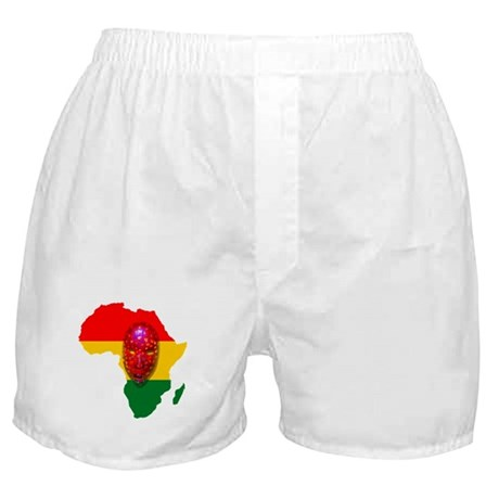 Africa with Mask Boxer Shorts