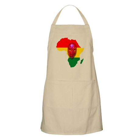 Africa with Mask Apron