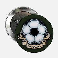 "Soccer - Football 2.25"" Button"
