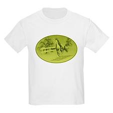 Cute Green mustang T-Shirt