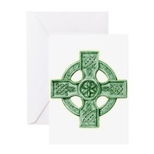 Celtic Cross Equilateral Greeting Card