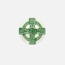 Celtic Cross Equilateral Mini Button