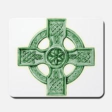 Celtic Cross Equilateral Mousepad