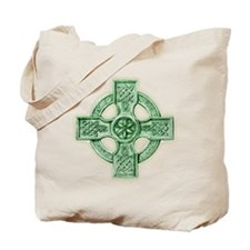 Celtic Cross Equilateral Tote Bag