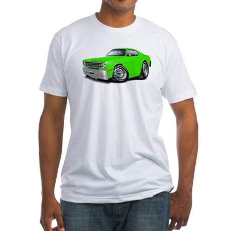 1970-74 Duster Lime Car Fitted T-Shirt