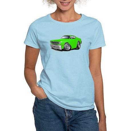 1970-74 Duster Lime Car Women's Light T-Shirt