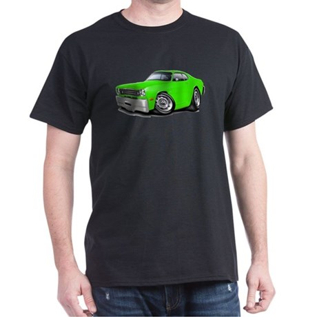 1970-74 Duster Lime Car Dark T-Shirt