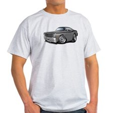 1970-74 Duster Grey-Black Car T-Shirt