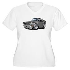 1970-74 Duster Grey-Black Car T-Shirt
