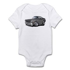 1970-74 Duster Grey-Black Car Infant Bodysuit