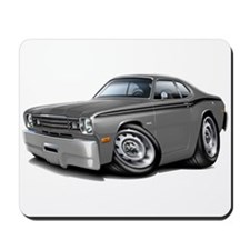 1970-74 Duster Grey-Black Car Mousepad