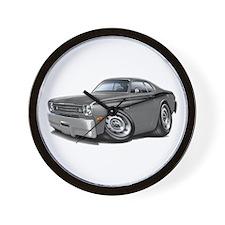 1970-74 Duster Grey-Black Car Wall Clock