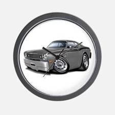 1970-74 Duster Grey-Black Car Wall Clock