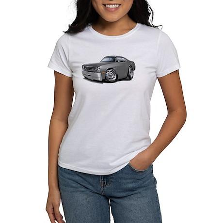 1970-74 Duster Grey Car Women's T-Shirt