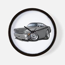 1970-74 Duster Grey Car Wall Clock
