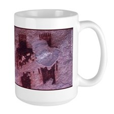 Three Chiefs Pictograph Mug
