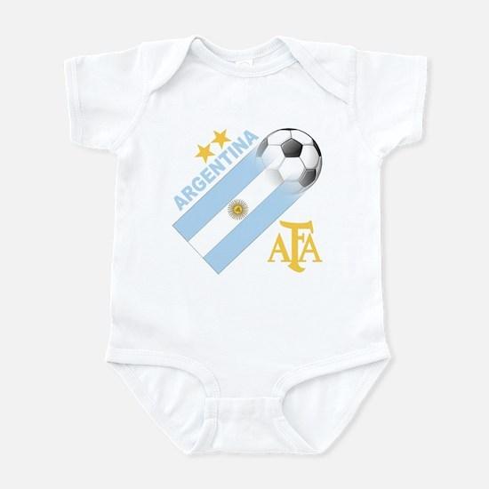 Argentina world cup soccer Infant Bodysuit