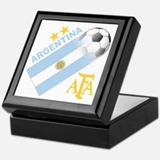 Argentina world cup soccer Keepsake Box