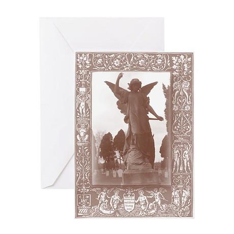 Gothic Angel Greeting Card