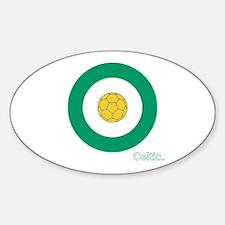 Target Sticker (Oval)