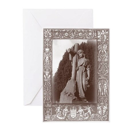 Faith and the Cross Greeting Cards (Pk of 20)