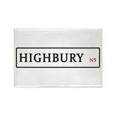Highbury Rectangle Magnet