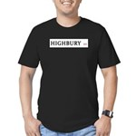 Highbury Men's Fitted T-Shirt (dark)