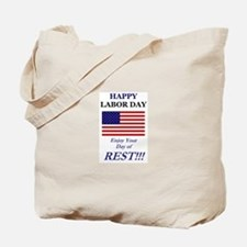 Labor Day Tote Bag