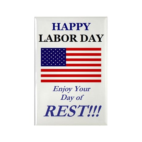 Labor Day Rectangle Magnet (10 pack)