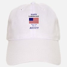 Labor Day Baseball Baseball Cap
