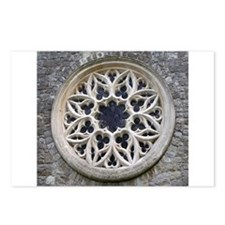 Stone Rose Window Postcards (Package of 8)
