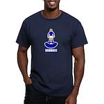 Brummie Men's Fitted T-Shirt (dark)