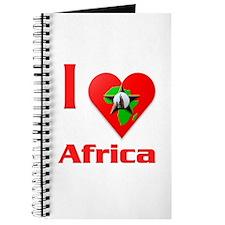 I Love Africa #2 Journal