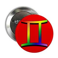 GLBT Gemini r Button