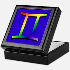 GLBT Gemini b Keepsake Box
