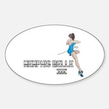 Memphis Belle III Sticker (Oval)
