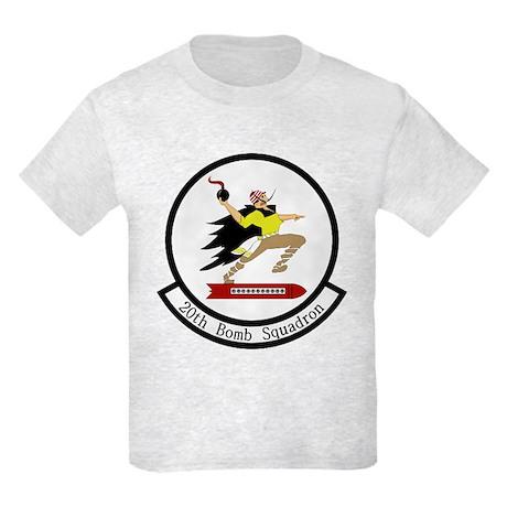 20th Bomb Squadron Kids Light T-Shirt