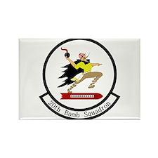 20th Bomb Squadron Rectangle Magnet