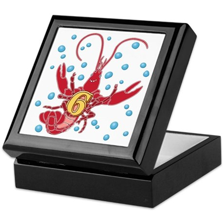 Crawfish Six Keepsake Box
