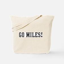 Go Miles Tote Bag
