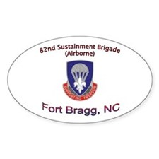 82nd Sustainment BDE Decal