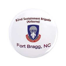 "82nd Sustainment BDE 3.5"" Button"