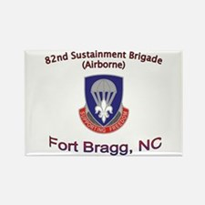 82nd Sustainment BDE Rectangle Magnet