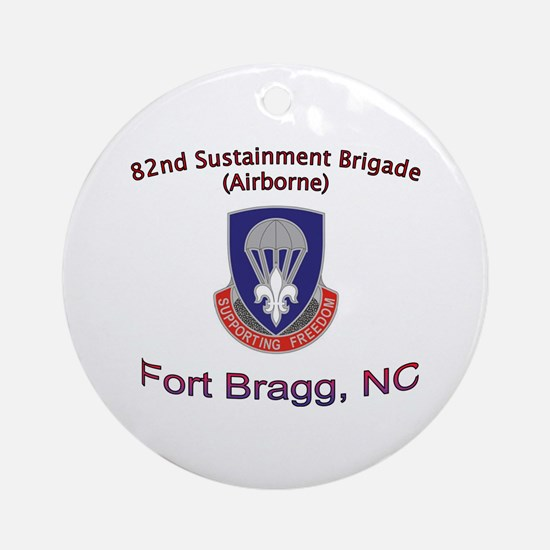 82nd Sustainment BDE Ornament (Round)