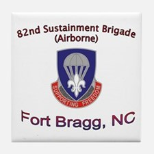 82nd Sustainment BDE Tile Coaster