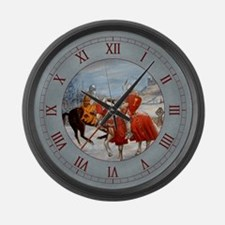 Perceval's Trance Large Wall Clock