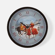 Perceval's Trance Wall Clock