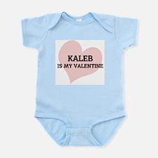 Kaleb Is My Valentine Infant Creeper
