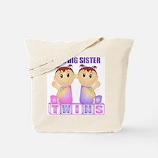 I'm A Big Sister (PGG:blk) Tote Bag