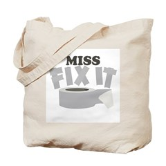 Miss Fix It Tote Bag